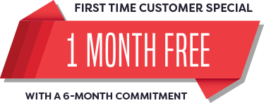 One Month Free With A 6 Commitment