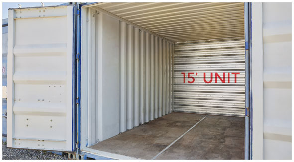 15 Foot Storage Unit Twin Cities